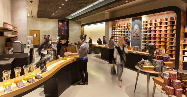 Gallery: Starbucks Goes Coffee-Free in a Bar Centered on Tea