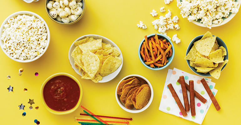 These are a variety of popular snacks.