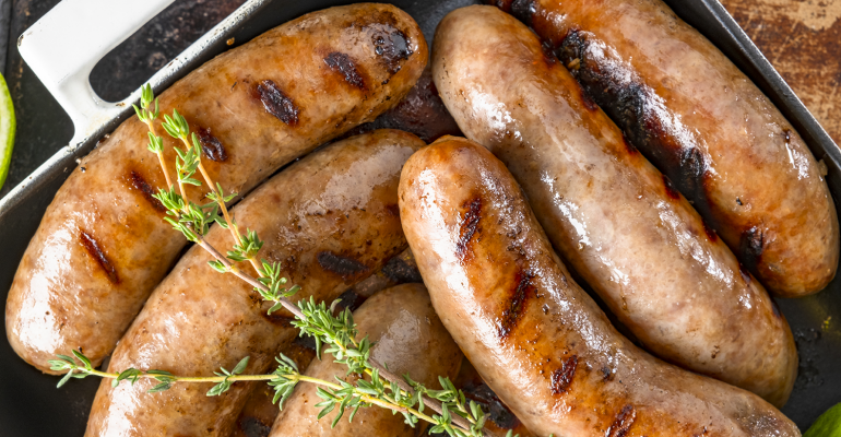 Sausages Getty