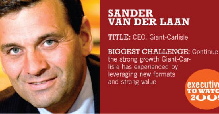 Van der Laan Brings New Focus to Giant-Carlisle