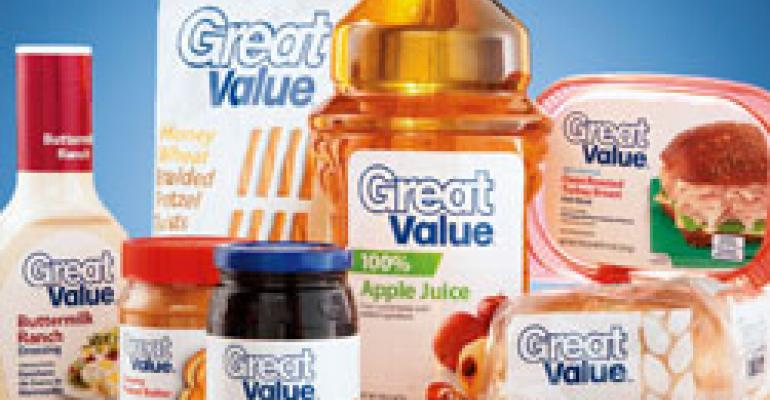 Wal-Mart Unveils Great Value Details