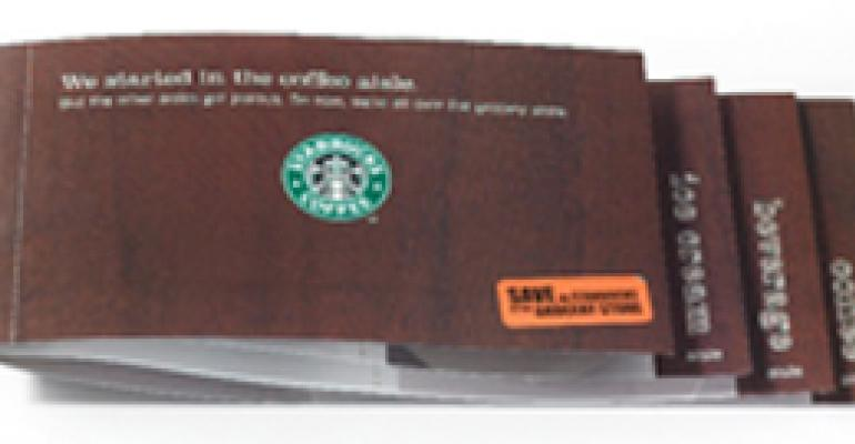 Starbucks to Target Its Cafe Visitors With Supermarket Coupons