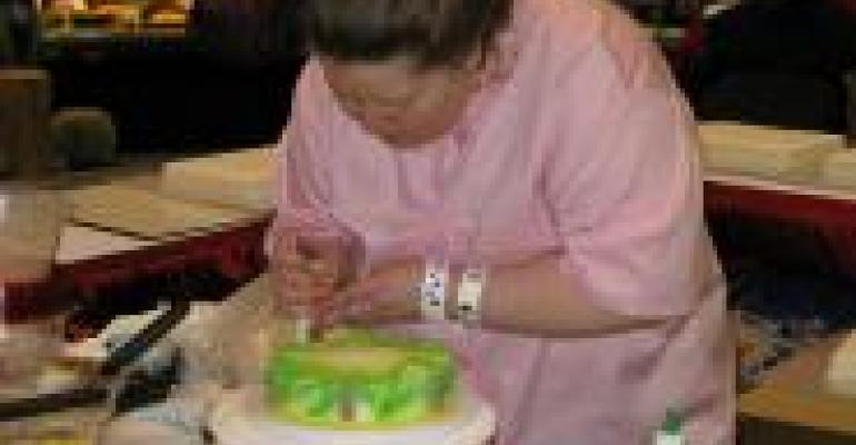Day 1: Cake Decorating Challenge