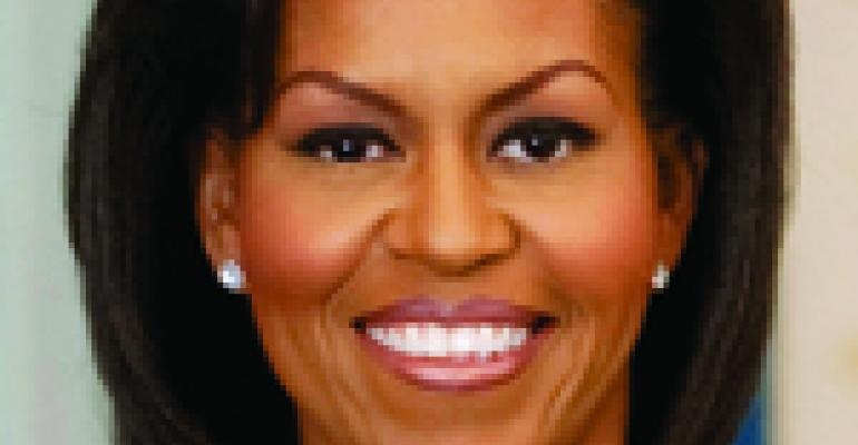 First Lady Addresses Nutrition, Food Deserts