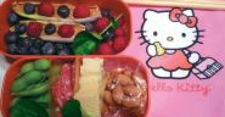 Back to School with a Bento Box Lunch