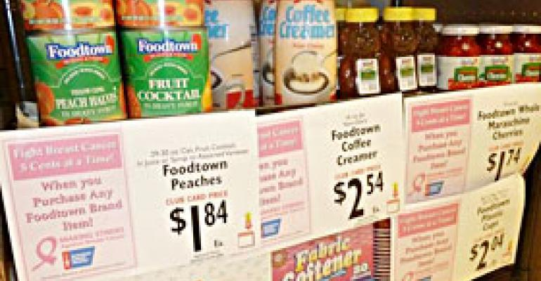 Donations Tied to Foodtown Brand