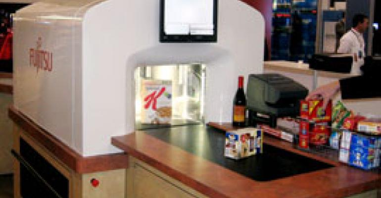 Fujitsu Displays Kroger Self-Checkout 'Tunnel'