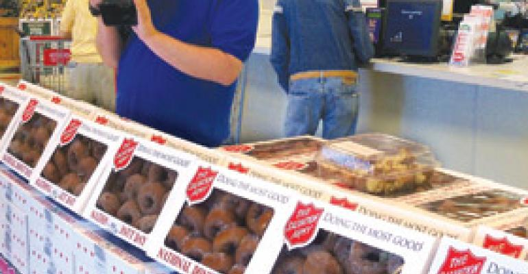 Donut Day a Hit at Riesbeck's