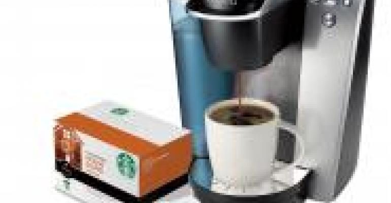 Starbucks in a K-Cup