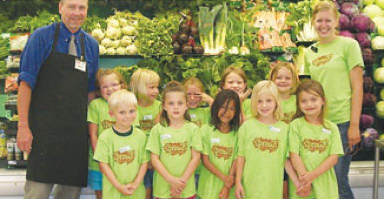 Hy-Vee's Children's Garden Project Reaps Rewards