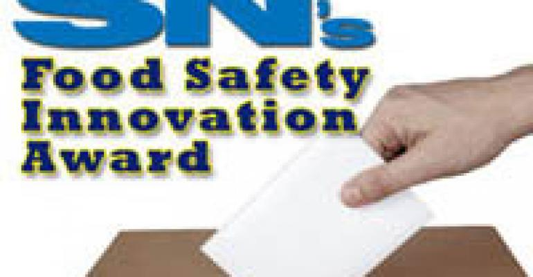 Nominations Sought for Food Safety Award