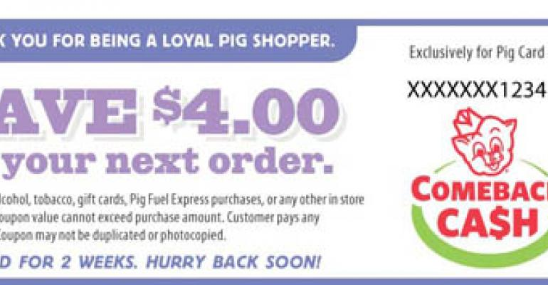 Piggly Wiggly Launches Cash-Back Incentives