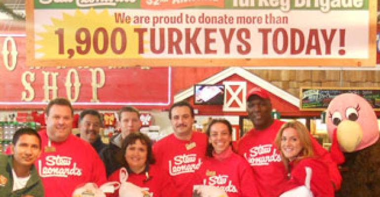 Stew Leonard's Donates More Than 1,900 Turkeys