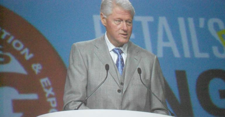 NRF: Clinton's Grocery Roots