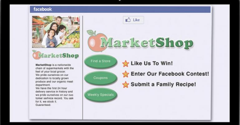 Store Brands 2012: Facebook Friendly