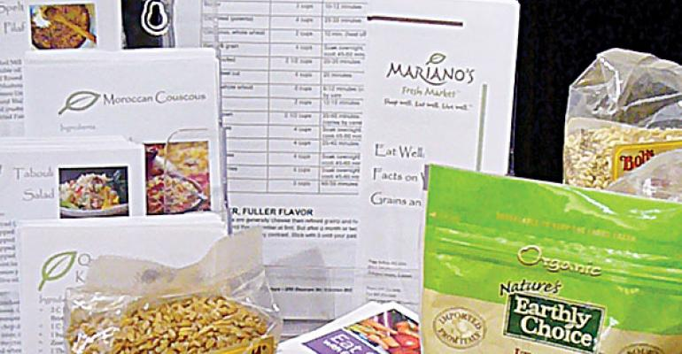 Retailers Participate in Whole Grains Sampling Day