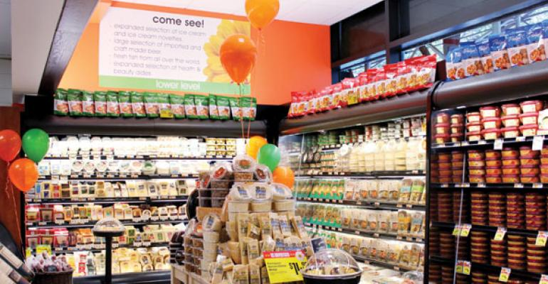 Remodeled Food Emporium stores seek to offer an everyday shop