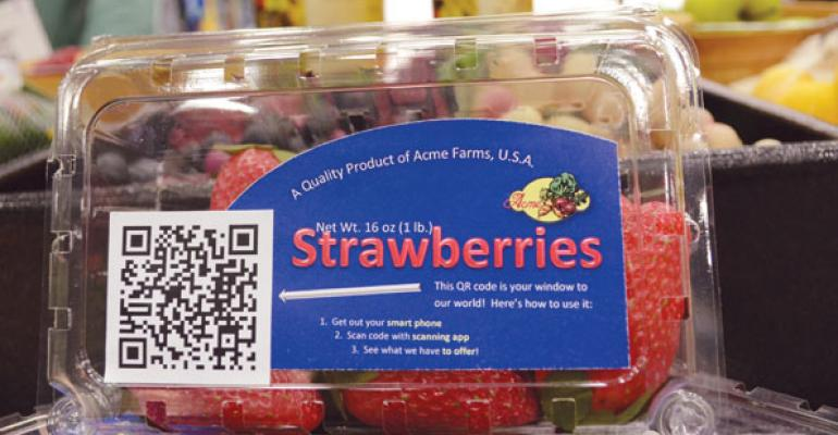 Virtual Produce: On-Pack Marketing With Social Media