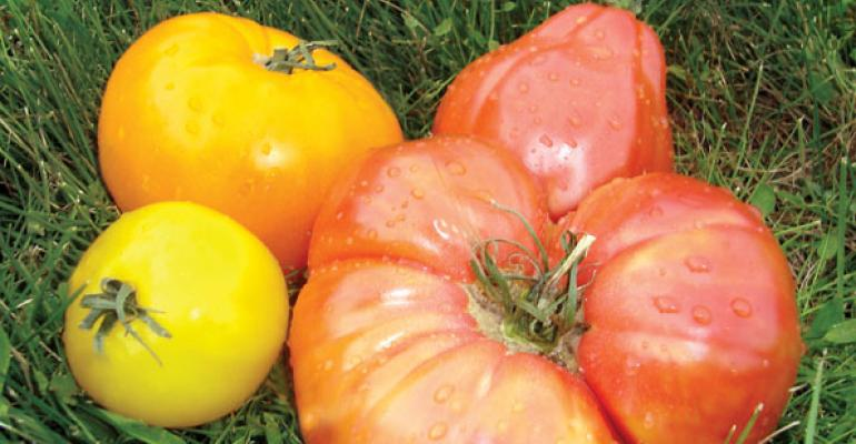 Heirloom tomatoes are favorites but consumers also enjoy turnips carrots and others