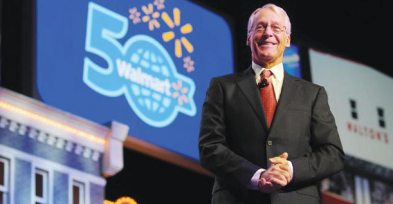 WalMart Chairman Rob Walton at the 2012 annual shareholders meeting