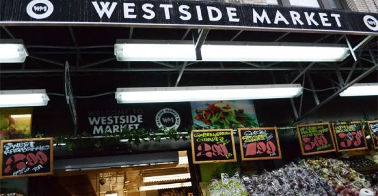 Westside Market NYC CEO George Zoitas said the 97th Street and Broadway location the second on the Upper West Side was chosen because of its proximity to the express subway train that allows shoppers to easily get off the train and shop