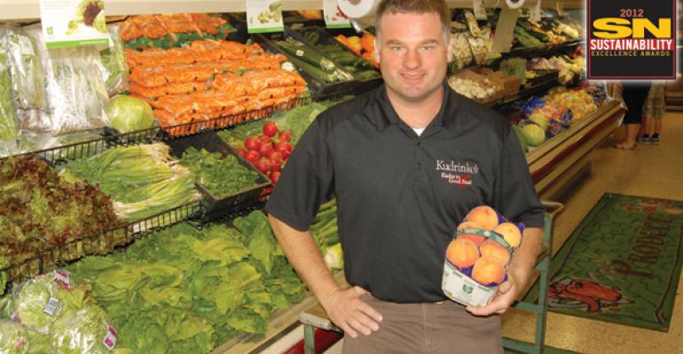 Neil Kudrinko a grocer who has had political aspirations