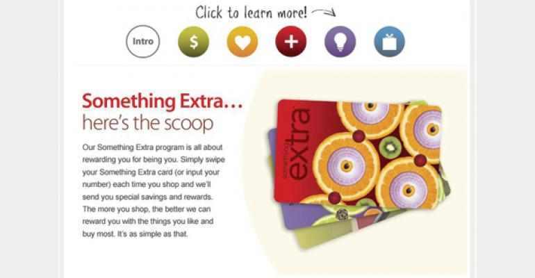 Something Extra cards allow Raleys customers to earn points toward quarterly vouchers