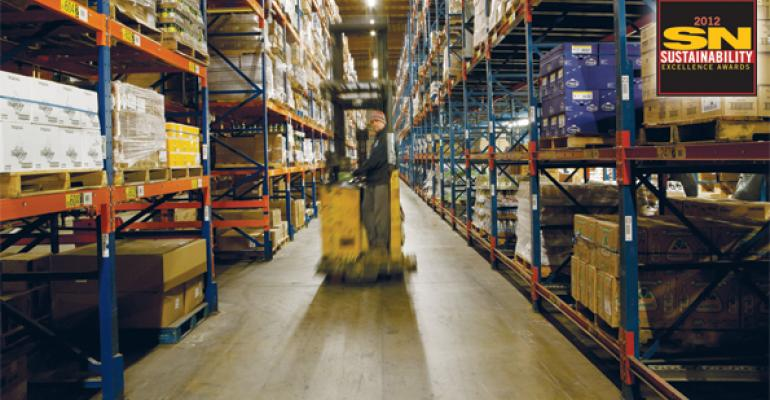 Unified Grocers has made sustainability improvements in warehouse lighting and forklifts