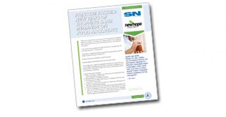 White Paper Title: Pressure packed: New ways of shopping raise demands on food packaging
