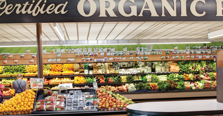 Natural Grocers is a certified organic retailer