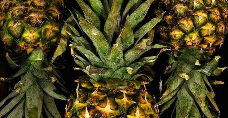 Pineapple Beats the Flu