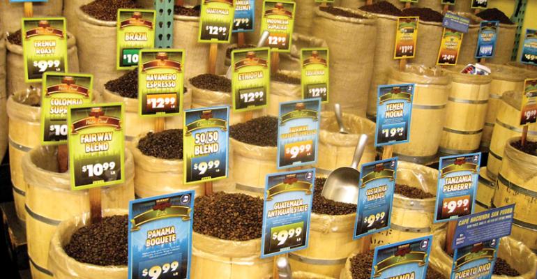 Scene of the Grind: Fairway Market's Full-Service Coffee Department