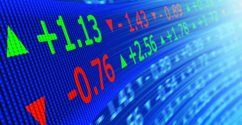 2013 stock prices, gains and declines