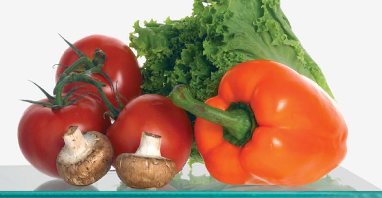 Fresh Market Categories on Solid Ground