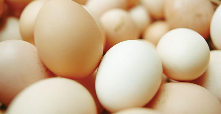 Overall egg category dollar sales were up 37 at supermarkets over a recent 52week period IRI reports