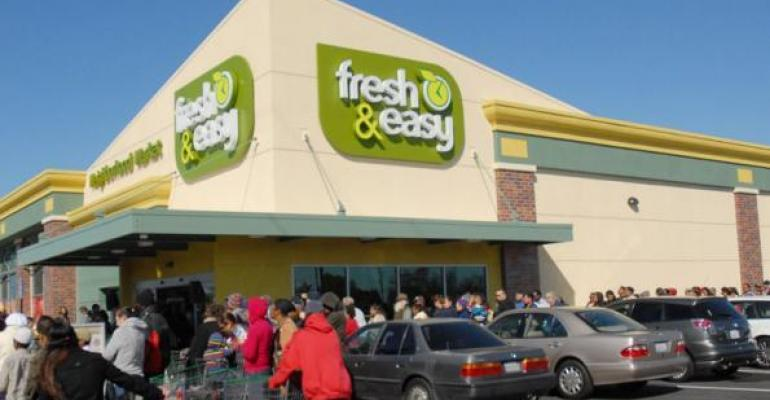 Fresh & Easy to Shut Unsold Stores