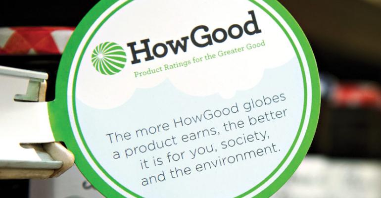 Twenty independent retailers have implemented the thirdparty HowGood rating system