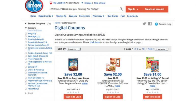 Kroger Lets Customers Lead the Way in Digital World