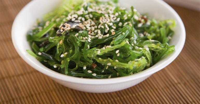 Seaweed is on the SterlingRice Group list of 10 hot dining trends for 2014 and retail sales are hot too