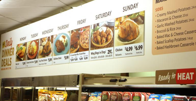 The new Food Lion offers a variety of ldquodaily dinner dealsquot plus sides from 4 to 7 pm