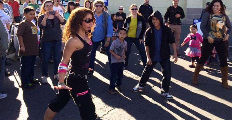 January39s celebrations feature Zumba a Colombian dance with elements of aerobics and martial arts