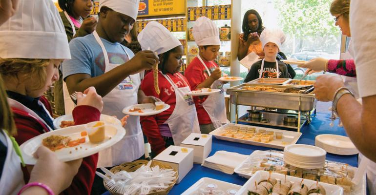 Kids judge healthy dishes as part of NRArsquos Kids LiveWell Recipe Challenge