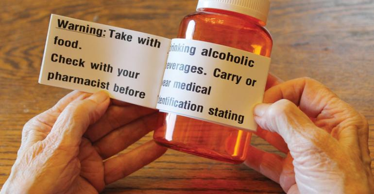 Pharmacies let their labels do the talking