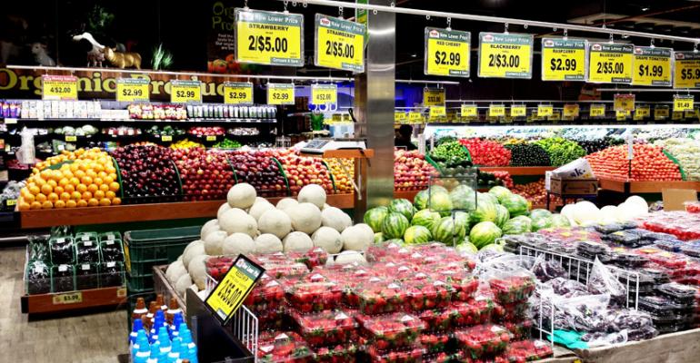 The newest Food Bazaar includes 5500 square feet of produce among other amenities that appeal to ethnic shoppers