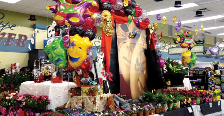 Linrsquos Marketplace uses extravagant themed displays to showcase Valentinersquos Day offerings