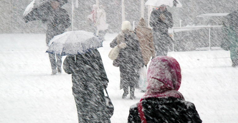ldquoBefore any snowstorm the local news puts the fear of God into people as if it has never snowed in winter before and that prompts consumers to stock up ahead of the storm which is good for salesquot mdash CHUCK CERANKOSKY Northcoast Research