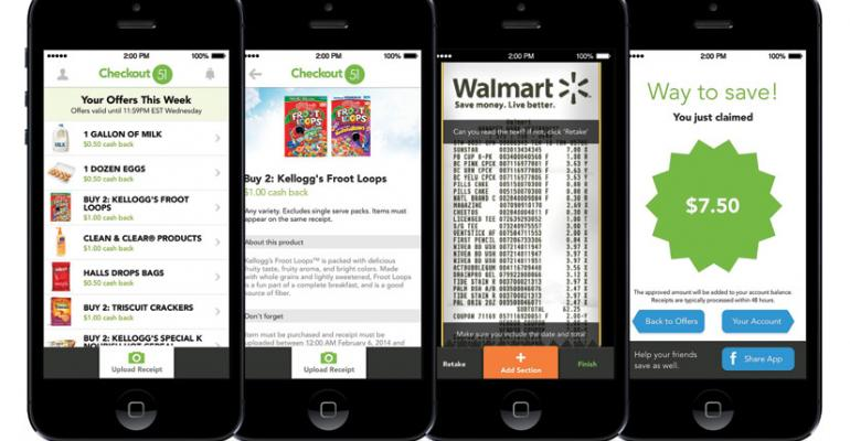 Checkout 51 is available on smartphone and the web