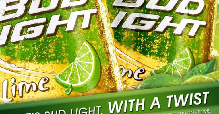 IRI: Bud Light Lime-A-Rita top new beverage