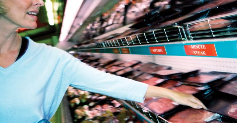 Supermarkets are losing share of organic meat shoppers