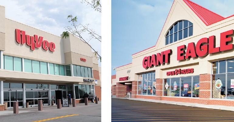 Both HyVee and Giant Eagle are expanding into major new markets mdash HyVee in the Twin Cities and Giant Eagle in Indianapolis